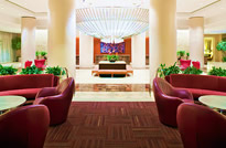 Lobby of Westin Charlotte